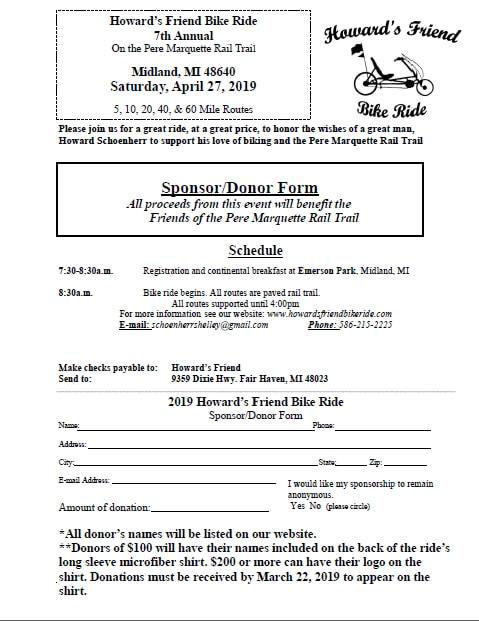 Jim Coleman Cadillac >> Sponsors - Howard's Friend Bike Ride April 27th 2019